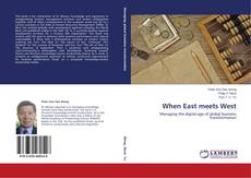 Bookcover of When East meets West