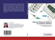 Copertina di Advance Research Method for Diabetes Mellitus