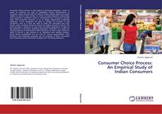 Bookcover of Consumer Choice Process: An Empirical Study of Indian Consumers