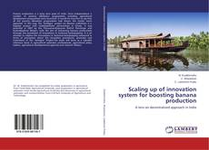 Bookcover of Scaling up of innovation system for boosting banana production