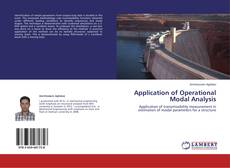Bookcover of Application of Operational Modal Analysis