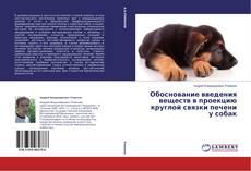 Bookcover of Обоснование введения веществ в проекцию круглой связки печени у собак