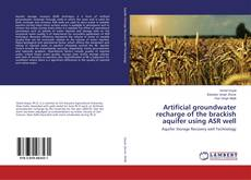 Bookcover of Artificial groundwater recharge of the brackish aquifer using ASR well