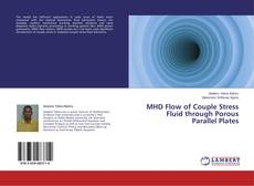 Bookcover of MHD Flow of Couple Stress Fluid through Porous Parallel Plates