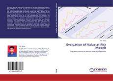 Bookcover of Evaluation of Value at Risk Models