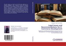Copertina di Legal Issues and Recommendations for E-Commerce Development