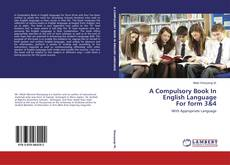 Buchcover von A Compulsory Book In English Language For form 3&4