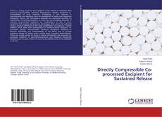 Buchcover von Directly Compressible Co-processed Excipient for Sustained Release