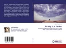Capa do livro de Society as a Garden