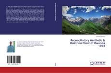 Capa do livro de Reconciliatory Aesthetic & Doctrinal View of Rwanda 1994