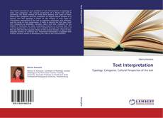 Bookcover of Text Interpretation