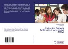Buchcover von Instructing Thematic Patterns in Argumentative Essays