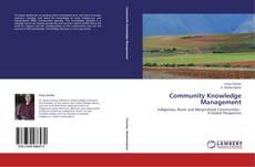 Copertina di Community Knowledge Management