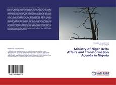 Bookcover of Ministry of Niger Delta Affairs and Transformation Agenda in Nigeria