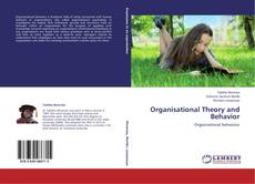 Couverture de Organisational Theory and Behavior