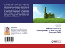 Buchcover von Entrepreneurship Development in Automotive through ICAM
