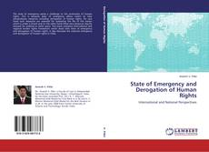 Copertina di State of Emergency and Derogation of Human Rights