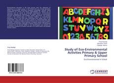 Capa do livro de Study of Eco-Environmental Activities Primary & Upper Primary School