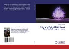 Buchcover von Energy efficient techniques for distillation processes