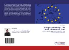 Bookcover of European Identity: The Death of National Era?