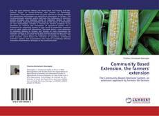 Portada del libro de Community Based Extension, the farmers' extension