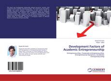Bookcover of Development Factors of Academic Entrepreneurship