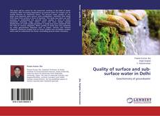Portada del libro de Quality of surface and sub-surface water in Delhi