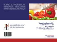 Copertina di Oral&Radiographic Manifestations Of Nutritional Deficiencies&Nutrition