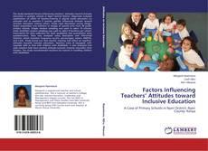 Capa do livro de Factors Influencing Teachers' Attitudes toward Inclusive Education