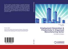 Bookcover of Employment Generation & Productivity In Organised Manufacturing Sector