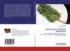 Bookcover of Leafy Greens Washing Operations