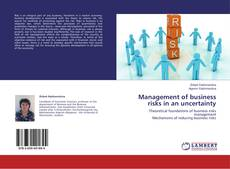 Copertina di Management of business risks in an uncertainty