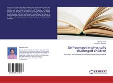 Couverture de Self-concept in physically challenged children