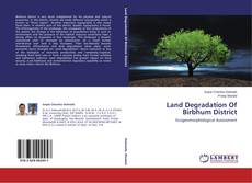 Bookcover of Land Degradation Of Birbhum District