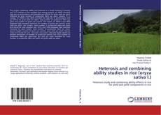 Portada del libro de Heterosis and combining ability studies in rice (oryza sativa l.)