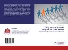 Обложка Early Return To Work Program In Saudi Arabia