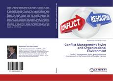 Conflict Management Styles and Organizational Environment kitap kapağı
