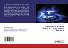 Bookcover of International Business Theory and International Economy