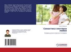 Bookcover of Семантика эмотивов любви