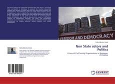 Buchcover von Non State actors and Politics