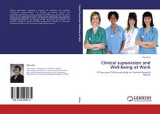 Capa do livro de Clinical supervision and Well-being at Work