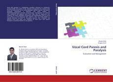 Bookcover of Vocal Cord Paresis and Paralysis