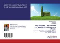 Portada del libro de Organic and Conventional Tef production in Northern Ethiopia