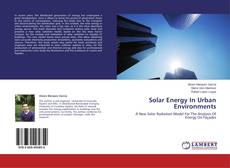 Bookcover of Solar Energy In Urban Environments