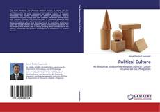 Capa do livro de Political Culture