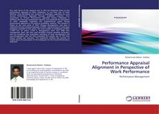 Capa do livro de Performance Appraisal Alignment in Perspective of Work Performance