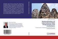 Nationalisation of International NGO Programmes and Institutions kitap kapağı