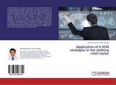 Portada del libro de Application of E-SCM strategies in the clothing retail sector
