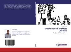 Capa do livro de Phenomenon of Street Children