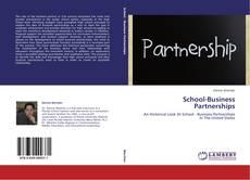 Buchcover von School-Business Partnerships